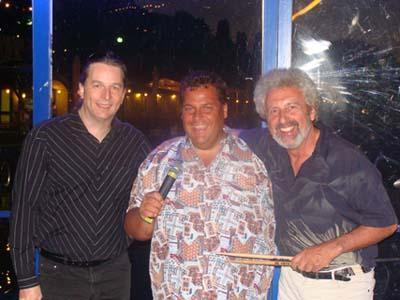 Harry Steiner mit Hannes Jaric und Rudi Staeger