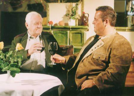 Harry Steiner mit Toni Strobl